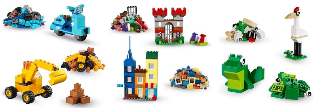 LEGO Classic 10698 ideas y figuras