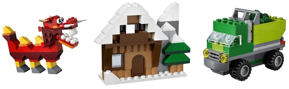 LEGO Classic 10704 caja creativa ideas y figuras