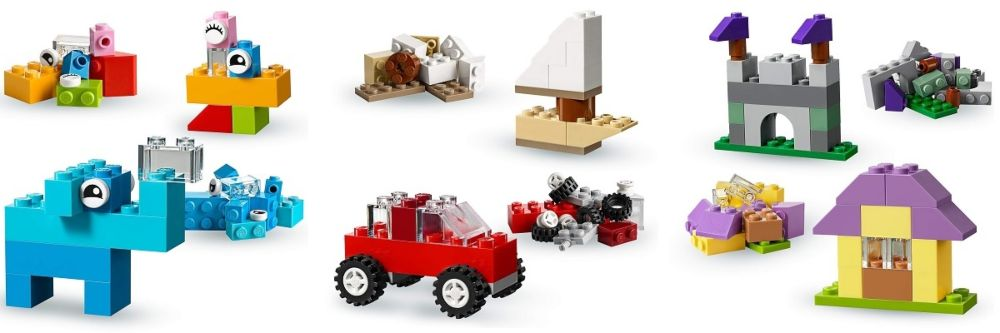 LEGO Classic 10713 Maletin creativo ideas y figuras
