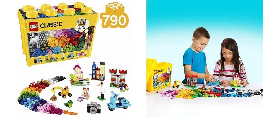 set LEGO Classic 10698 caja de ladrillos creativos grande