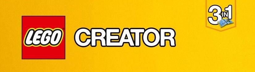 Logo LEGO Creator 3 en 1