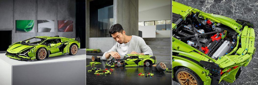 LEGO Lamborghini Sian