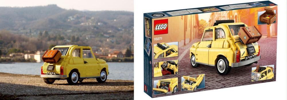 creator Expert 10271 LEGO Fiat 500