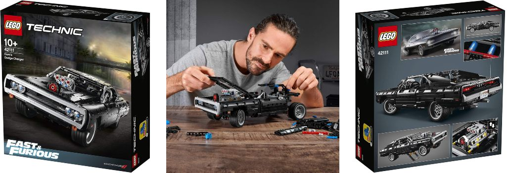 LEGO Dom's Dodge Charger Technic 42111