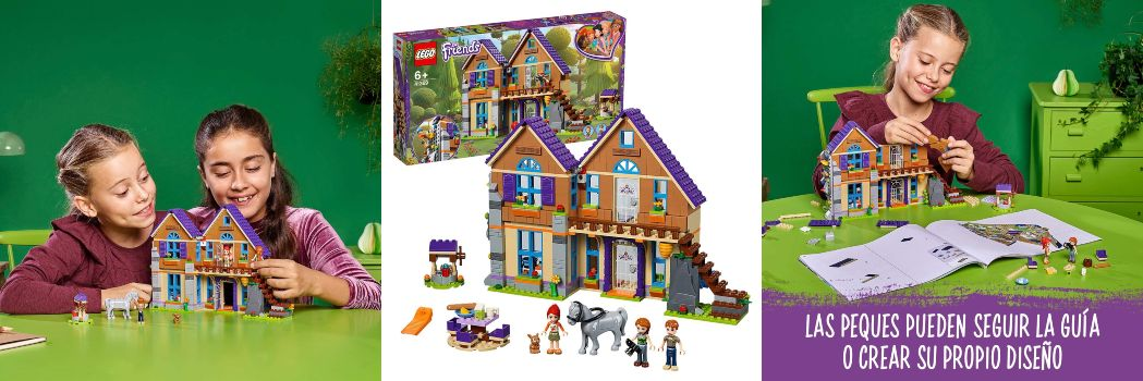 LEGO Friends casa de Mia