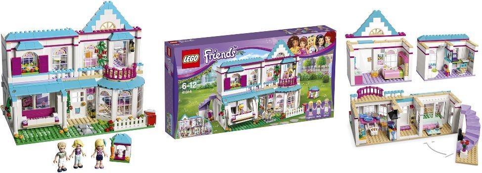 LEGO Friends la Casa de Stephanie 41314