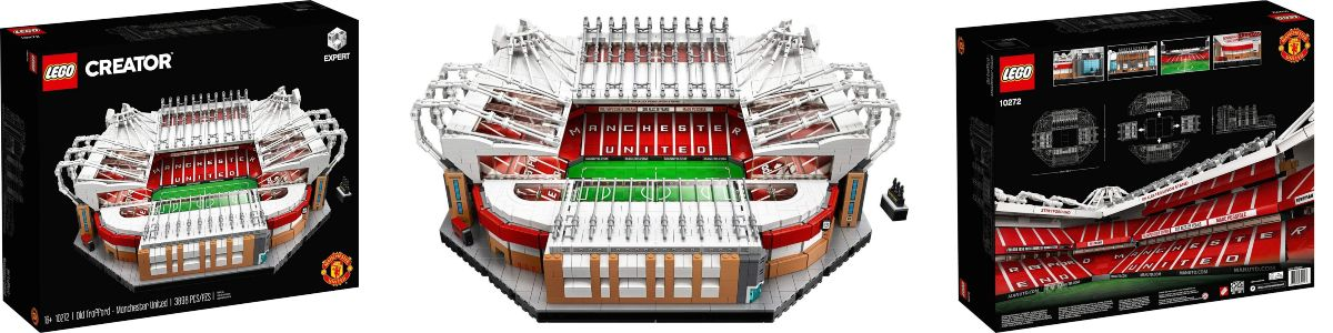 estadio de Old Trafford LEGO 10272