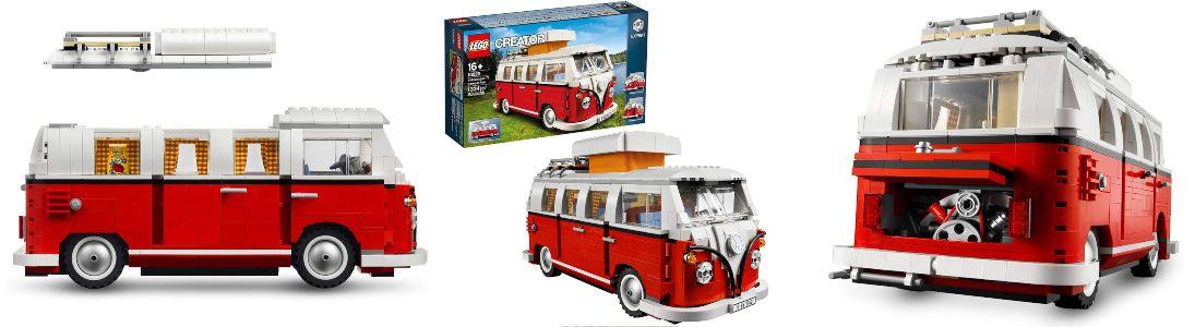 furgoneta LEGO Volkswagen T1 Camper Van