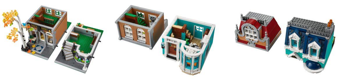 la Libreria de LEGO creator expert 10270